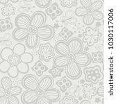 vector floral seamless pattern. ... | Shutterstock .eps vector #1030117006