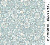 ornate floral seamless texture  ... | Shutterstock .eps vector #1030117552