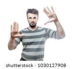 magic trick. photo portrait of...