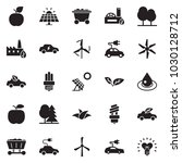 solid black vector icon set  ... | Shutterstock .eps vector #1030128712