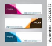 banner background.modern vector ... | Shutterstock .eps vector #1030133872