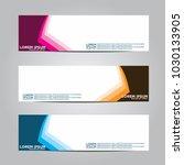 banner background.modern vector ...   Shutterstock .eps vector #1030133905