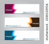 banner background.modern vector ... | Shutterstock .eps vector #1030133926