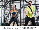 people doing functional... | Shutterstock . vector #1030137352