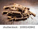 close up of ayurvedic herb... | Shutterstock . vector #1030142842