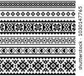 sami vector seamless pattern ...   Shutterstock .eps vector #1030147765
