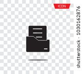 document flat vector icon.... | Shutterstock .eps vector #1030162876
