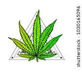 cannabis leaf  marijuana  herb  ...   Shutterstock .eps vector #1030165096