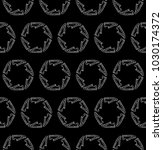 shoes seamless round pattern on ... | Shutterstock .eps vector #1030174372