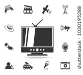 tv icon. detailed set icons of... | Shutterstock .eps vector #1030195288