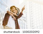 focus at the hand pointing up....   Shutterstock . vector #1030202092