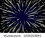 star wars. flying through the... | Shutterstock . vector #1030203892
