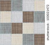 Seamless Quilt Checkered Medley ...