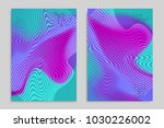 abstract cover template with... | Shutterstock .eps vector #1030226002