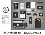 corporate identity template set ...   Shutterstock .eps vector #1030239685