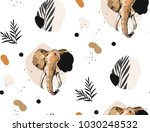 hand drawn vector abstract... | Shutterstock .eps vector #1030248532