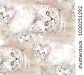 seamless pattern cute design....   Shutterstock . vector #1030251292