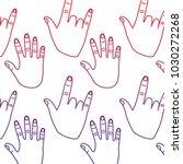 hand gesture pattern image  | Shutterstock .eps vector #1030272268