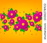 bright spring floral background ... | Shutterstock .eps vector #1030278922
