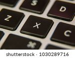x keyboard key button press... | Shutterstock . vector #1030289716
