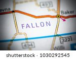 Small photo of Fallon. Montana. USA on a map.