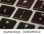 colon semi symbol     keyboard... | Shutterstock . vector #1030294312