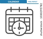 calendar icon. professional ... | Shutterstock .eps vector #1030295782