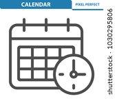 calendar icon. professional ... | Shutterstock .eps vector #1030295806