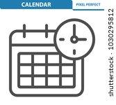 calendar icon. professional ... | Shutterstock .eps vector #1030295812