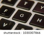 g keyboard key button press... | Shutterstock . vector #1030307866