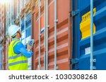 foreman control loading... | Shutterstock . vector #1030308268