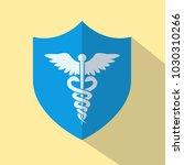 medical icon   caduceus   rod... | Shutterstock .eps vector #1030310266