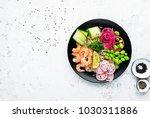 fresh seafood recipe. shrimp...   Shutterstock . vector #1030311886
