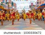 oruro  bolivia   february 10 ... | Shutterstock . vector #1030330672