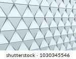 abstract 3d illustration.... | Shutterstock . vector #1030345546