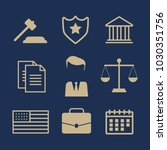 lawyer concept. lawyer icons in ... | Shutterstock .eps vector #1030351756
