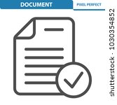 document icon. professional ... | Shutterstock .eps vector #1030354852