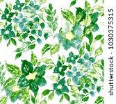 watercolor seamless pattern... | Shutterstock . vector #1030375315