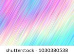 holographic gradient stripes... | Shutterstock .eps vector #1030380538