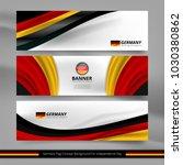 flag of germany banner... | Shutterstock .eps vector #1030380862