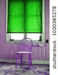 retro interior in abandoned... | Shutterstock . vector #1030385278
