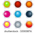 buttons | Shutterstock .eps vector #10303876