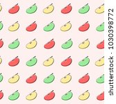 vector pattern with image of... | Shutterstock .eps vector #1030398772