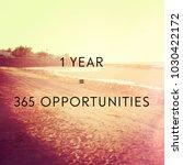 quote   1 year   365... | Shutterstock . vector #1030422172