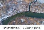 lake in winter. location ... | Shutterstock . vector #1030441546