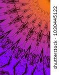 abstract multi colored mandala... | Shutterstock . vector #1030445122