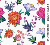Embroidery Floral Patches...