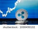 ripple  xrp  cryptocurrency ... | Shutterstock . vector #1030450132