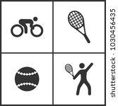 vector illustration of sport...   Shutterstock .eps vector #1030456435