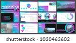 multifunctional presentation... | Shutterstock .eps vector #1030463602